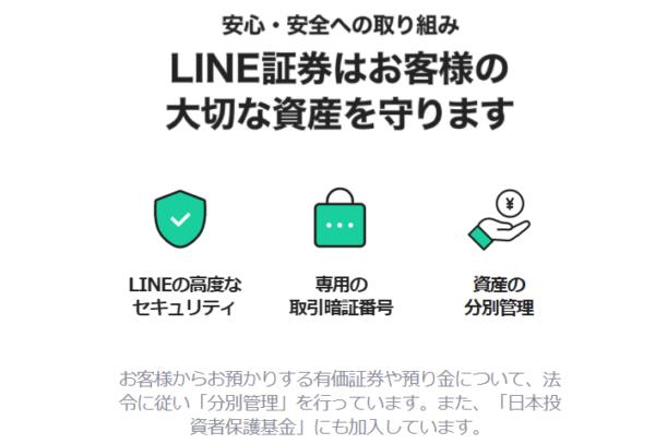 line証券セキュリティ